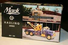 FIRST GEAR THE MACK HAULING SERIES 1960 MODEL B-61 NO.103 Bulldog Wrecker