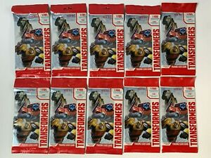Transformers  Wizards of the Coast Trading Card Game Booster Packs (10-pack)