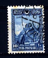 TURKEY - TURCHIA - 1926 - Fortezza di Ankara. Iscrizioni in caratteri arabi e Ia