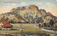 Trinidad Colorado~Simpson's Rest~Homes & Picket Fence~Climbing This Mt Next~1909