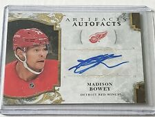 2019-20 ARTIFACTS HOCKEY MADISON BOWEY AUTOFACTS AUTO CARD- RED WINGS