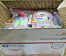 K-3 Lot Teacher or Home School Full Box of Education and Classroom Supplies
