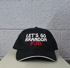 LET'S GO BRANDON FJB Adjustable Embroidered Ball Cap Hat F**K JOE BIDEN New