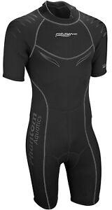 New Men's Wetsuit Neoprene Shorty Back Zip Suit Surf Scuba Snorkeling Dive Suit