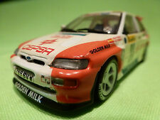 MINICHAMPS FORD ESCORT RS COSWORTH - RALLY MONTE CARLO 23 - RARE SELTEN - GOOD