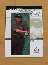 2001 Upper Deck SP Authentic Preview #56 Raymond Floyd AG