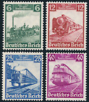 DR 1935, MiNr. 580-583, 580-83, tadellos postfrisch, Mi. 130,-