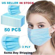 50 PCS!!!!! Face Masks SAME DAY SHIPPING!!!