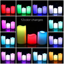 Battery Operated Flameless LED Tea Light Candles Home Wedding Holiday Decor