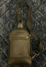 Coach -  Men's Crossbody Leather Sling  Bag
