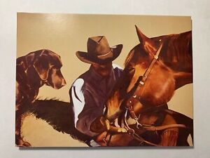 LOT 6 NEW Leanin' Tree THANK YOU Cards TKG27803 ~Cowboy, Horse, Labrador dog
