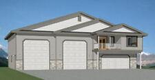 60x50 Apartment with 2-Car 2-RV Garage - PDF FloorPlan - 1,694 sqft - Model 1B
