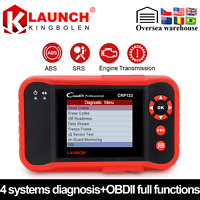 OBD2 Auto-Diagnostic Engine/Transmission/ABS/SRS/Airbag Scanner Launch CRP123