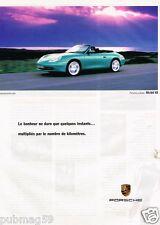 Publicité advertising 1999 Porsche