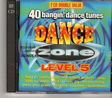 (GA952) Dance Zone Level 5, 2CD  - 1995 CD