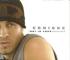 ENRIQUE IGLESIAS Not in Love / Maybe 4TRX MIXS& VIDEO CD Single SEALED USA seler
