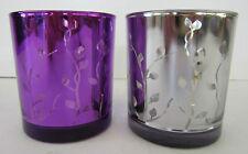 Deko-Kerzenständer & -Teelichthalter aus Kristall fürs Wohnzimmer