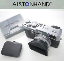 ALSTONHAND 49mm Metal Lens Hood & Cap for FujiFilm X100X X100S X100T X100F X70