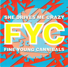 "Fine Young Cannibals 7"" She Drives Me Crazy - France"