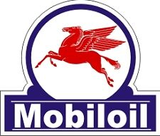 Vintage Mobil Oil Gas Pegasus Decal - The Best