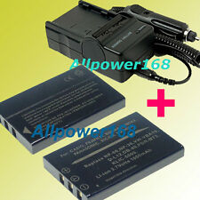 Battery + Charger for HP PhotoSmart R827 R837 R847 R927 R725 R827 R927 R937