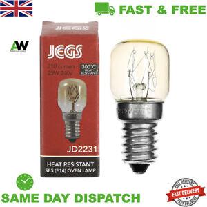 ZANUSSI OVEN & COOKER 300°C APPLIANCE LIGHT BULB LAMP 25W 240V SES E14 1000h