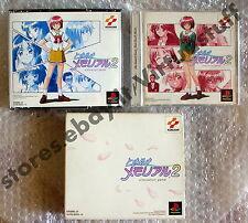 Tokimeki Memorial 2, collection box, psone, playstation, PSX, NTSC, JAP, raro!!!