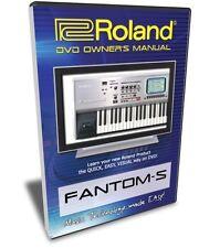 Roland Fantom-S DVD Video Training Tutorial Help