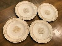 Set of 4 - Salad Plates Baroque by AMERICAN ATELIER Excellent