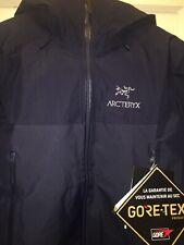 NEW Arc'teryx Beta SL Hybrid Jacket - Mens Medium Tui Navy Blue 23705 MSRP $399