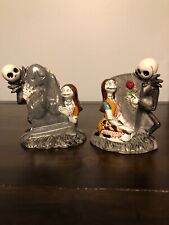 Disney Nightmare Before Christmas Jack Skellington & Sally salt & pepper shaker
