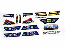 MOTU Masters of the Universe Blaster Hawk replacement Sticker
