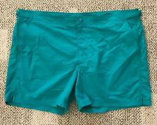 Burberry Mens Gilmoor Board Shorts Bright Jade Green Size 2XL Swim Trunks Surf