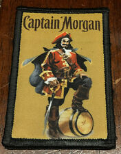 Captain Morgan Rum Morale Patch Military Tactical Army Flag USA Hook Badge