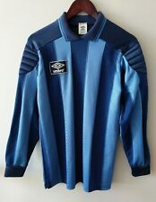 Rare Vintage Umbro Long Sleeve Soccer Goalie Goalkeeper Jersey Sz. M Made In USA