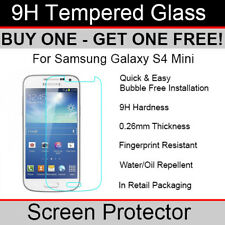 Premium Quality Tempered Glass screen protector for Samsung Galaxy S4 Mini