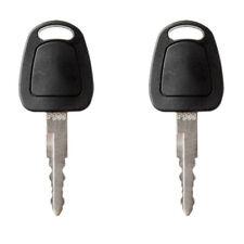 2Pc key For Doosan-Daewoo Bobcat E Series Mini Excavator Ignition Key F900