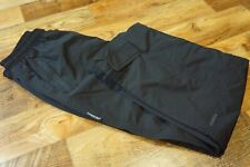 Men's Boys SKOGSTAD Waterproof Trousers Overpants Hiking Walking Black Size 164