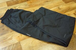 Men's Boys SKOGSTAD Waterproof Trousers Overpants Hiking Walking Black Size 164