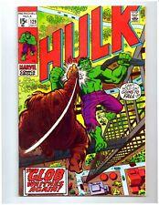 THE INCREDIBLE HULK #129 * HULK vs The GLOB * 1970 * Marvel Comics * 8.5 VF+