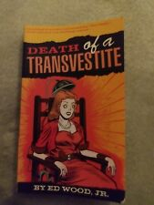 DEATH OF A TRANSVESTITE tpb Ed Wood Jr.