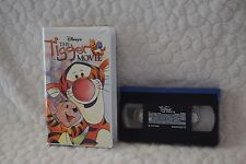 Walt Disney Home Video The Tigger Movie VHS Tape