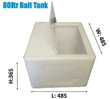 Live Bait Tank - 80Ltr  - Natural - Aussie Made - ASK FOR FREIGHT PRICES