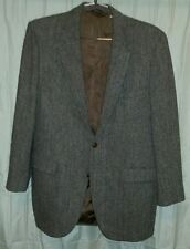 Eagle Clothes Harris Tweed, two button, wool blazer 42L
