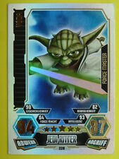 Force Attax Clone Wars 3 (2012, rot), Yoda (228), Force Master