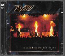 2 CD ALBUM LIVE 16 TITRES--EDGUY--BURNING DOWN THE OPERA LIVE 2003