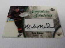 Mike Modano 2005-06 UD Ice Signature Swatches Relic Auto Stars