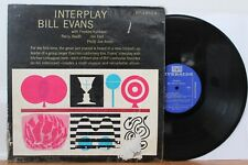 "Bill Evans LP ""Interplay"" ~ Riverside 445 ~ DG Mono ~ Freddie Hubbard"