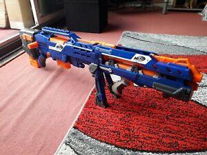 Nerf Blue Longshot Blaster Gun