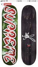 Supreme Lee Logo Skateboard Lee Quinones Skate Deck